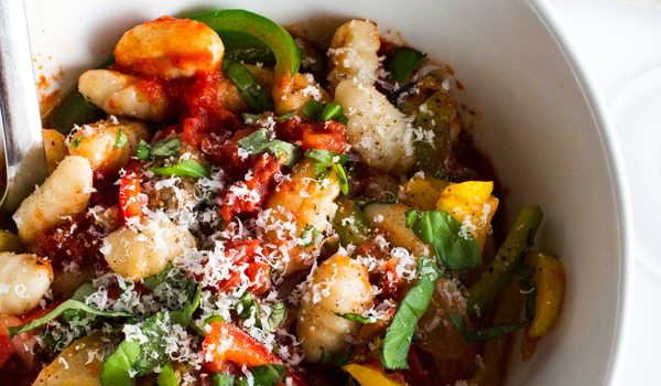 Gnocchi Marinara with Sausage & Peppers