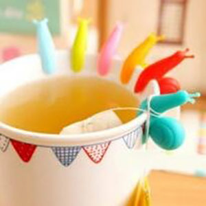 SmartKitch snail tea bag holders